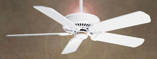 Panama Halo Ceiling Fan By Casablanca Fans 66h11f Pull Chain Shown W Matte Snow White Blades